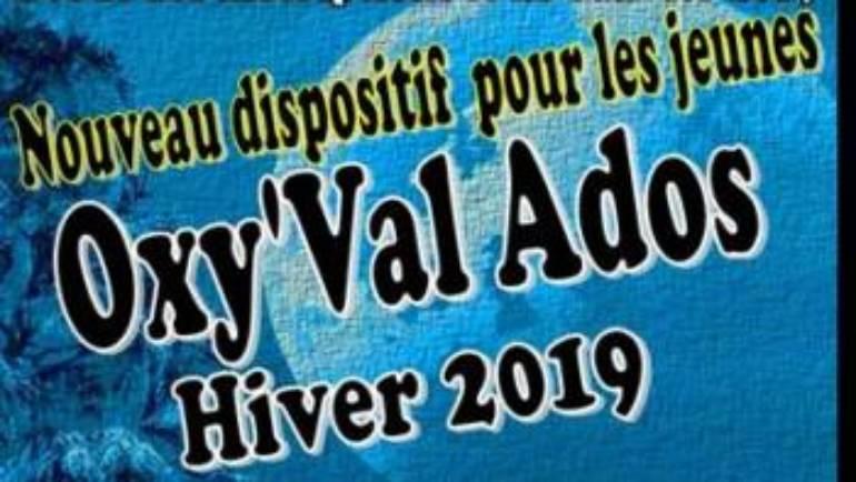 Oxy'Val Ados vacances hiver 2019