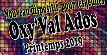 Oxy'Val Ados vacances printemps 2019