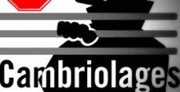 CAMBRIOLAGES : LES BONS REFLEXES